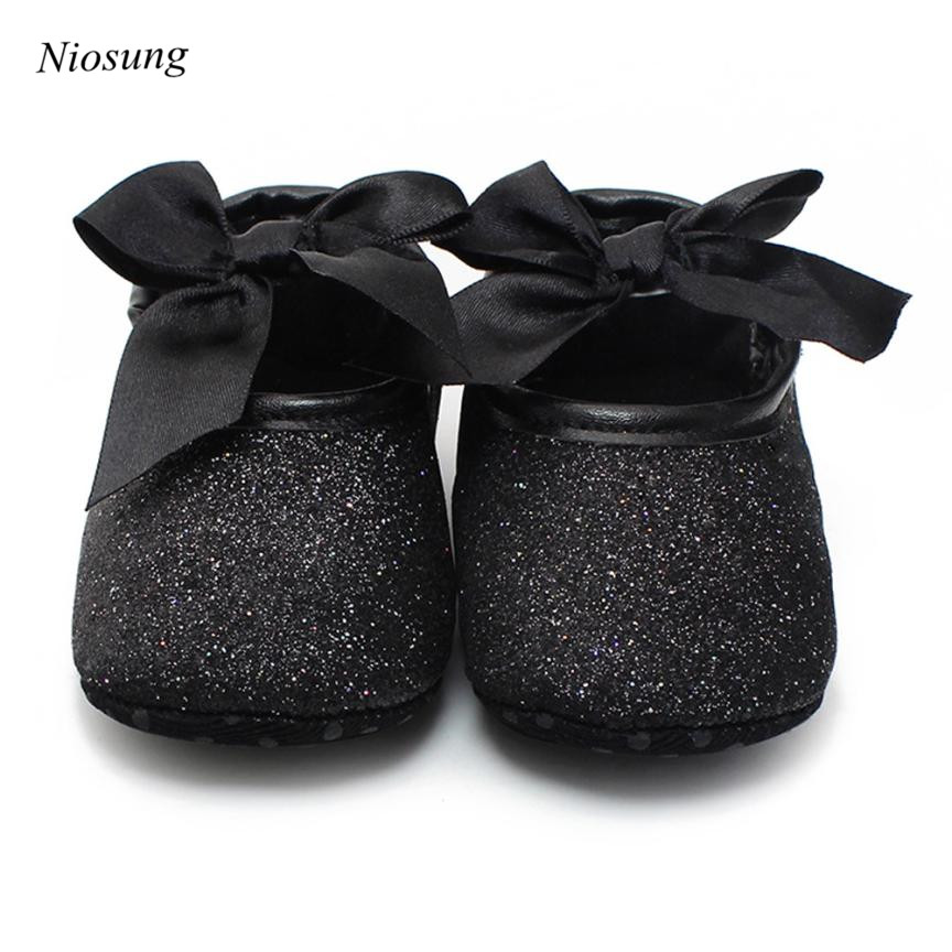 Niosung New Spring Autumn Baby Infant Girls Leather