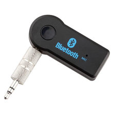 Stereo 3.5mm Blutooth Wireless adapter For Car Music Audio Bluetooth Receiver Adapter Aux For Headphone Reciever Jack Handsfree(China)