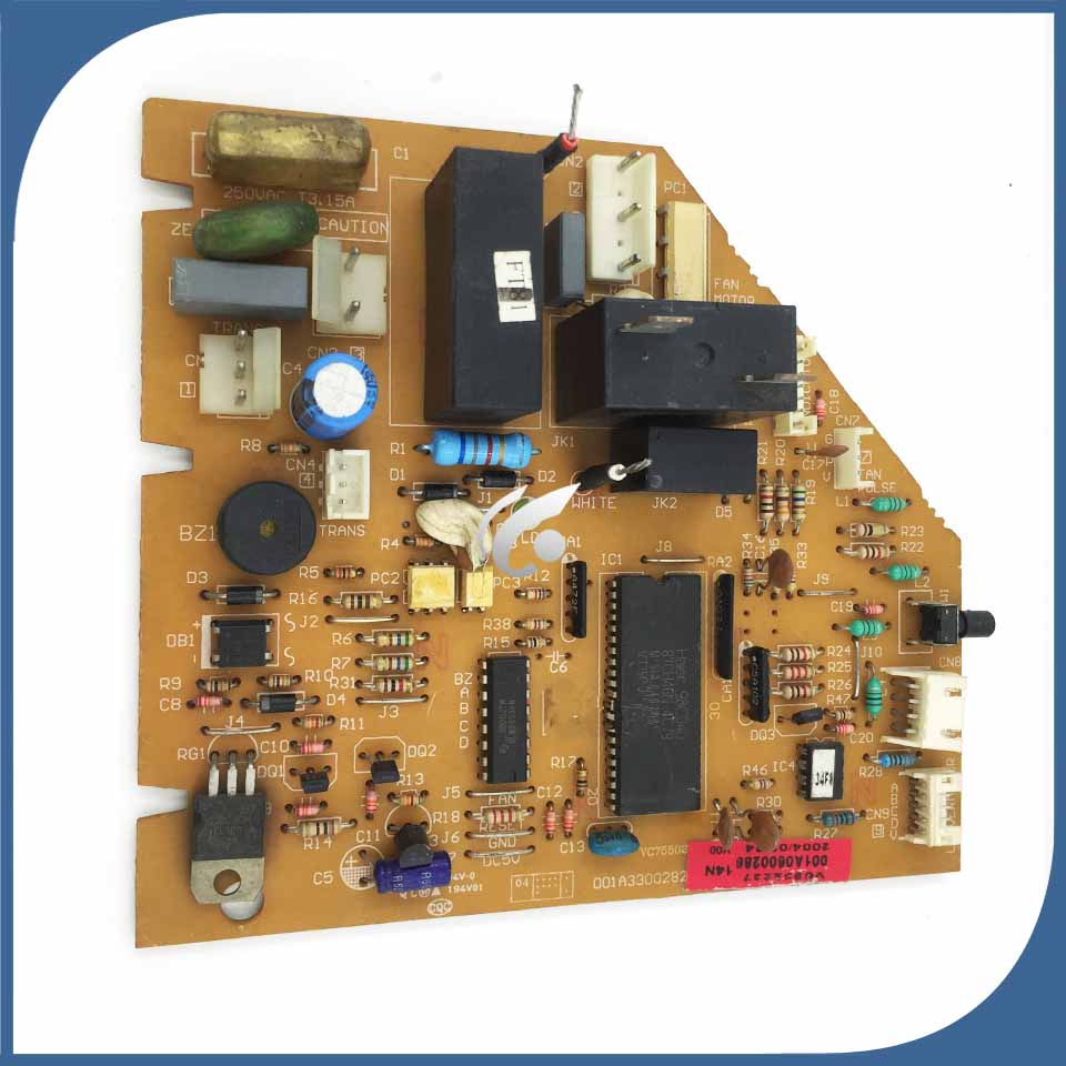 95% New Good Working For Air Conditioning Board 3300282 001a0600286 Pc Board Control Board Air Conditioner Parts Home Appliances