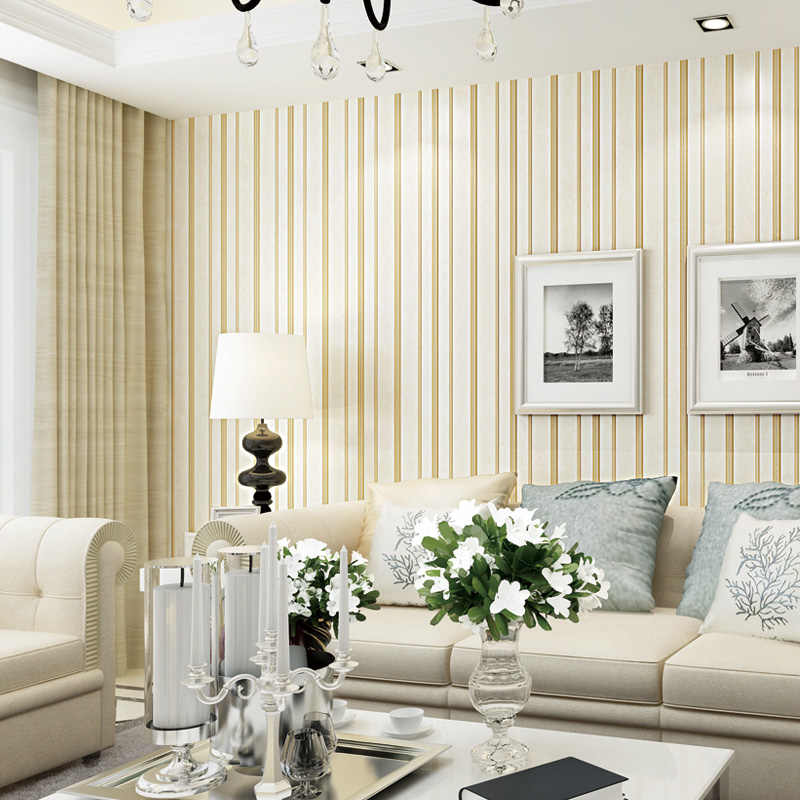 3d Vertical Stripes Wallpaper Living Room Tv Background Decoration Wall Paper 5 M Embossed Self Adhesive Wallpapers Roll Ez035 Wallpapers Aliexpress