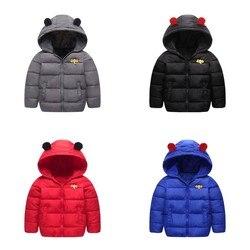 Nueva chaqueta para niños \ ropa 2018 Otoño Invierno niños Casual cremallera con capucha abrigo para niños niñas a2
