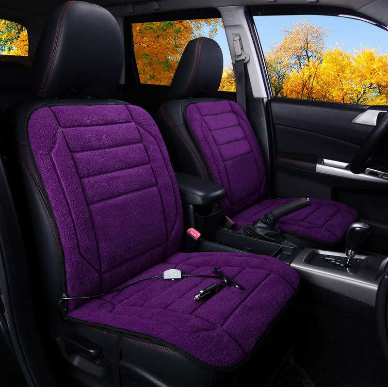 TB01-1,DC12,purple,Car heating cushion 12V electric heating seat car winter heating car mat ,winter heating seat cushion new for nissan qashqai j11 2014 2015 2016 silver roof rack side rails bars luggage carrier trim