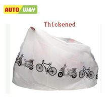 Outdoor Portable Waterproof Scooter Bike Motorcycle Rain Dust Cover Bicycle Protect Gear Cycling Bicycle Accessories Hot Sale