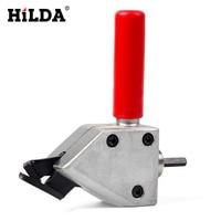 HILDA Metal Cutting Sheet Nibbler Cutter Tool Drill Attachment Cutting Tool Nibbler Sheet Metal Cutter Power