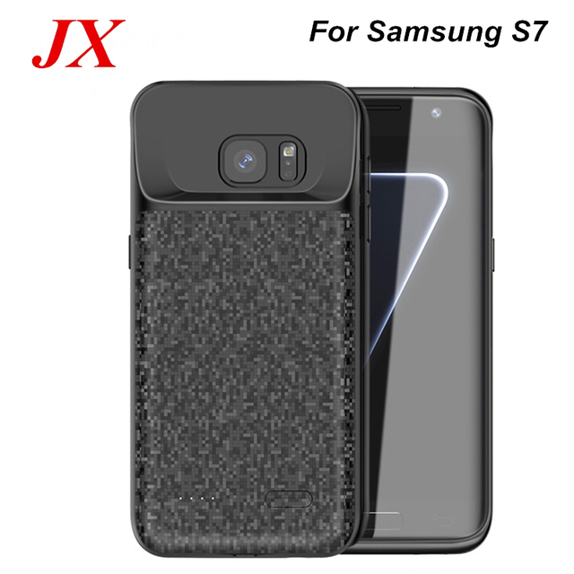 best service e953b 452c9 US $16.9 40% OFF|For Samsung Galaxy S7 Battery Case 4700 Mah Smart Slim  Charger Power Case Bank For Samsung S7 Battery Case-in Battery Charger  Cases ...