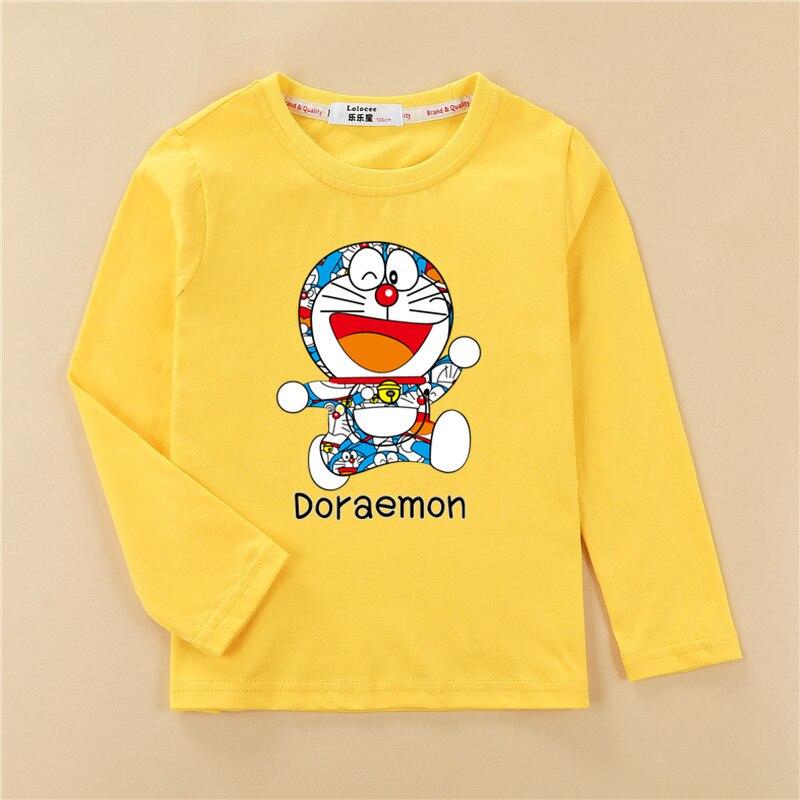 Fashion wreath kitten clothes children t-shirt girls tops long sleeve cotton tees girl cute print shirt 4