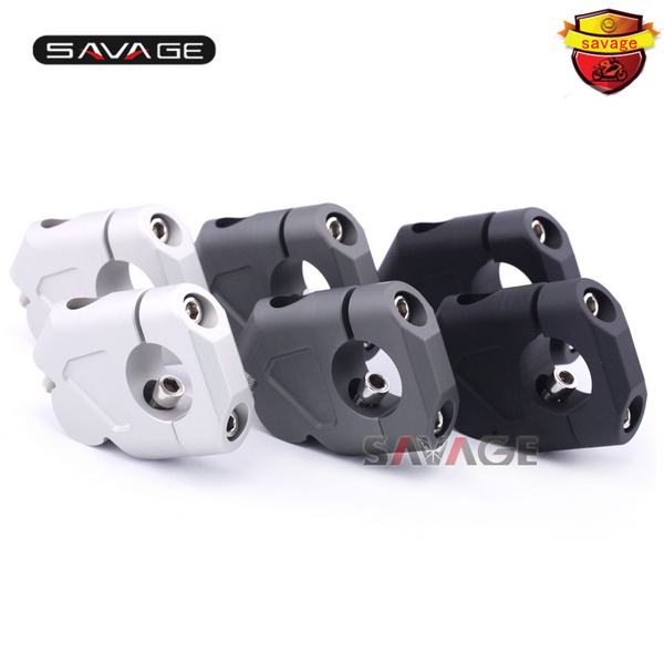 For BMW R1200GS LC 13-17/ R1200GS LC Adventure 14-17 Motorcycle Handlebar Riser Handle Bar Clamp Extend Adapter b 77 c 75 motorcycle brake clutch levers for bmw r nine t 14 16 r1200r r1200rs 15 17 r1200rt 14 17 r1200gs 13 17