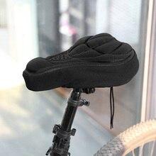 1 Uds. Asiento acolchado grueso para bicicleta de Ciclismo MTB, asiento acolchado suave para bicicleta, almohadilla para deportes de bicicleta al aire libre, 3 colores