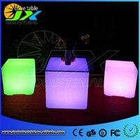 Jxy привело куб стул 40 см * 40 см * 40 см/40 см изменение многоцветные светодиодные CUBE Таблица современного освещения для вечеринок