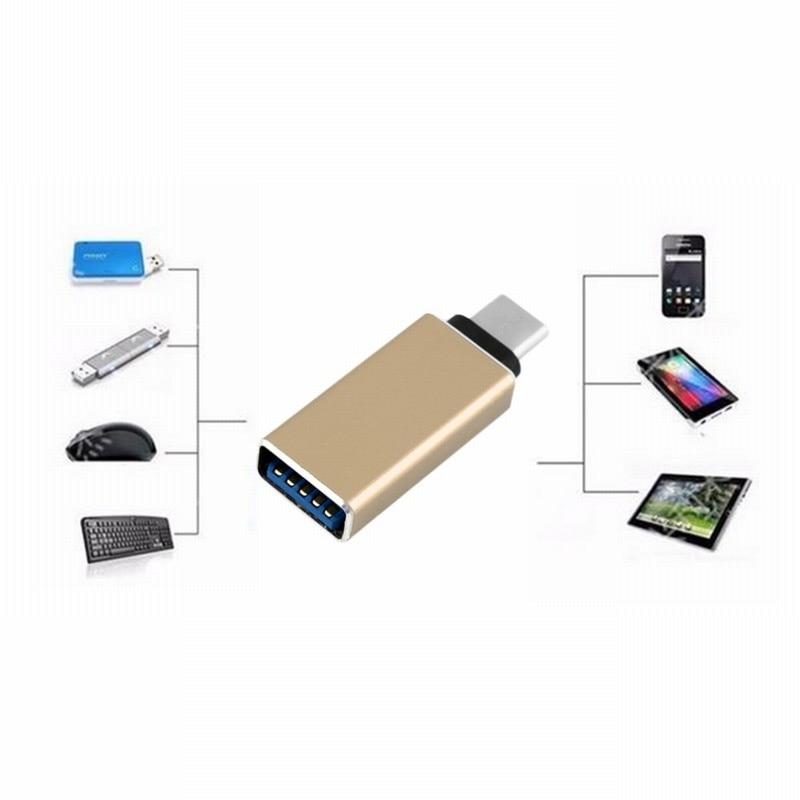 USB-C 3.1 Type C Male to USB 3.0 Female Adapter Sync Data Hub for MacBook Mac