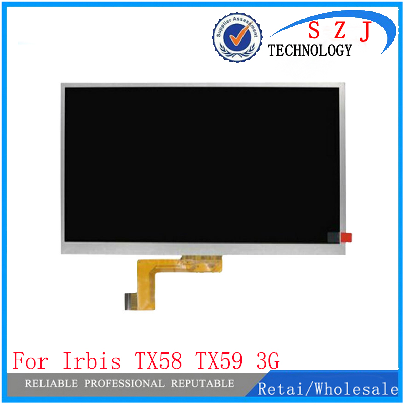New 10.1'' inch LCD Display Matrix For Irbis TX58 3G Tablet inner LCD Screen Panel Lens Glass Module replacement Free Shipping on sale new lcd display matrix 7 inch irbis tx 77 3g tablet inner lcd screen panel lens frame module replacement free shipping