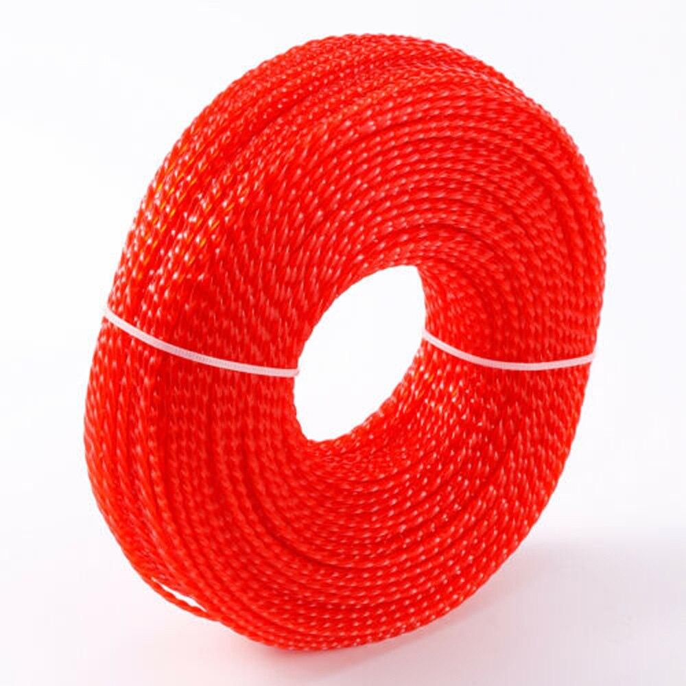 1 Pc 2.4 milímetros * 100m de Fio De Linha De Nylon Para Roçadeira Strimmer Trimmer Substituir Linha Aparador de Linha De Nylon fio Para Casa Diy Ferramentas Peças