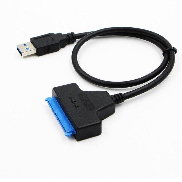 """Adapter SATA III Cáp USB 3.0 Gắn Ngoài USB đến Serial ATA 22Pin Sang Cứng W/UASP cho HDD/SSD 2.5"""""""