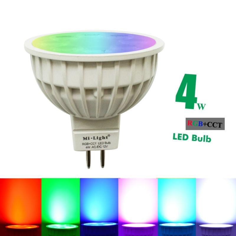 4W RGB+CCT MR16 GU10B