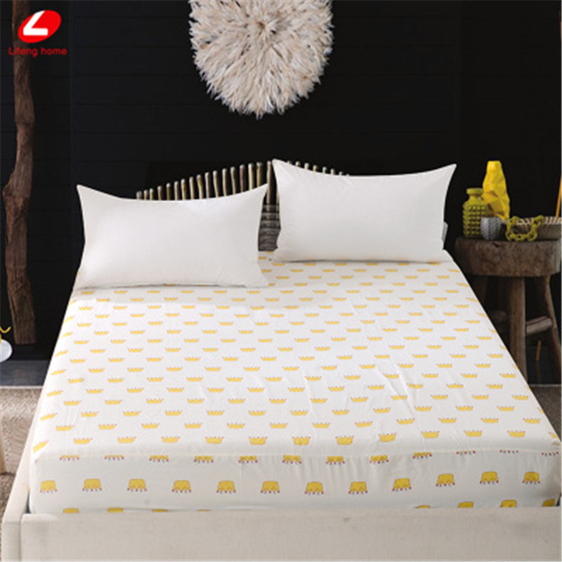 Home textile bed sheet sheet flower mattress cover printing bed sheet elastic rubber bedclothes 180*200cm summer bedspread band 29
