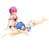 Anime Re:Zero kara Hajimeru Isekai Seikatsu Ram Swimsuit Ver. PVC Figure No Box