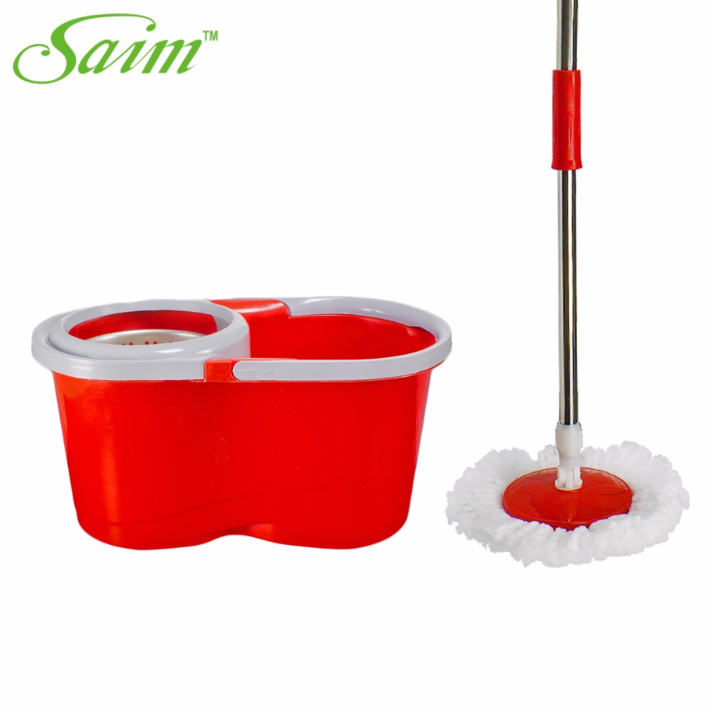 Portable Magic spin <font><b>Mop</b></font> bucket with wheel hand pressure rotating spin <font><b>Mop</b></font> head stainless household floor cleaning Tools
