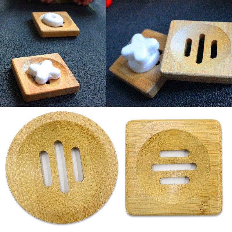 Hot Sale Soap Storage Box Drain Case Holder Durable Wooden for Kitchen Bathroom Home