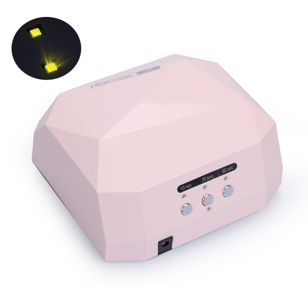 Nail Dryer&FREE SHIPPING 36W LED Ultraviolet Lamp For Nail Art Dryer Gel Curing UV Lamp Nail Polish Drying Manicure with original package sensor 36w dryer gel rapid drying device diamond shaped nail lamp led curing for uv gel polish nail art
