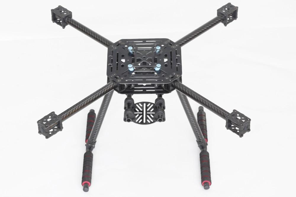 X4 500 de 500mm de fibra de vidrio/fibra de carbono de la placa Quadcopter marco kit con fibra de carbono de aterrizaje de actualización s500 Fit 1147-in Partes y accesorios from Juguetes y pasatiempos    3