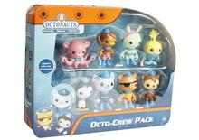 8pcs/set 100% Original The Octonauts Action Figure Toys Super Lovely Captain Barnacles Medic Peso Figures Model toy for kid