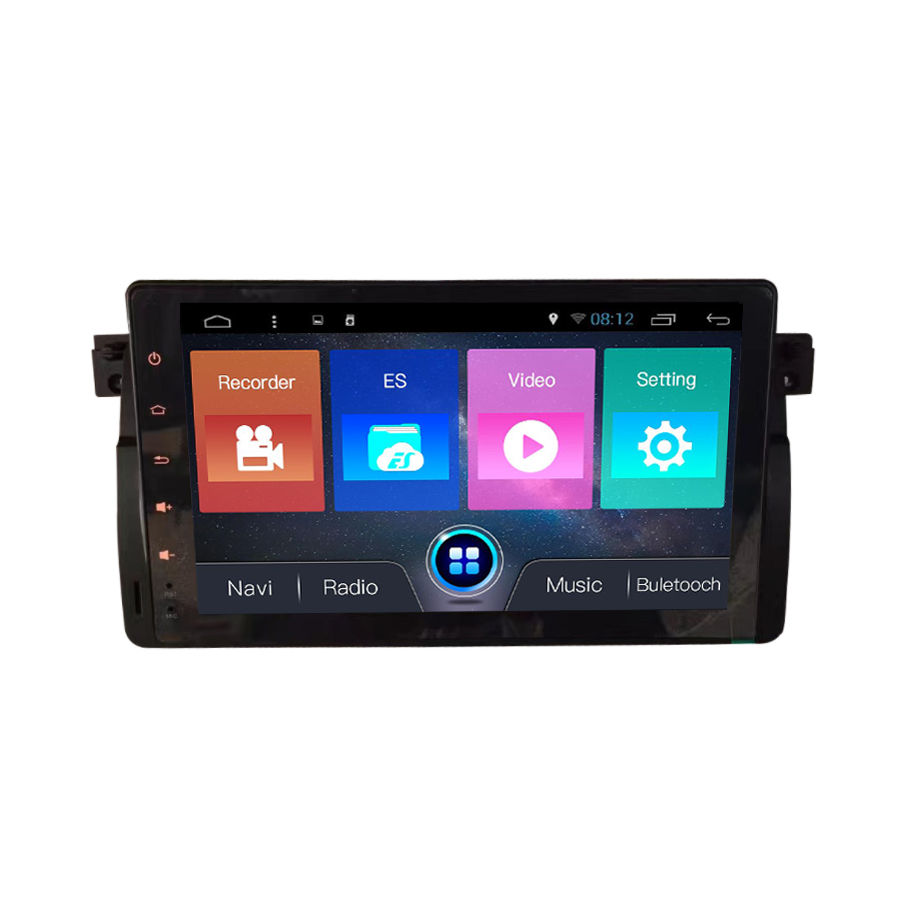 OTOJETA car dvd Android 7.1 car stereo head units touch screen multimedia player for BMW E46 M3 Rover 3 Series gps navigation
