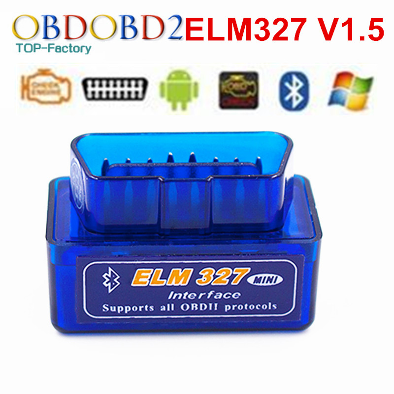 100 Hardware V1 5 Super MINI ELM327 SW V2 1 Multi Langugae 12Kinds ELM 327 Bluetooth