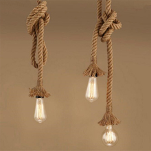 Rope lamp Pendant Light…