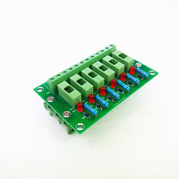 Fuse Module,6 Position Fuse Panel Mount Power Distribution Module Board.