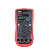 UNI T UT61B digital Multimeters auto range lcd multi tester AC DC voltage current digital multimeter temperature unit ut61