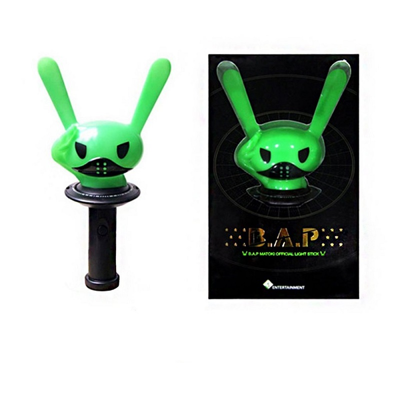 LED KPOP BAP Stick Lamp B.A.P Concert Lamp Hiphop MATOKI Lightstick Night light Light-Up Toys Kid gift Fans Collection led bts kpop stick lamp ver 1 army bomb bangtan boys concert lamp fashion hiphop lightstick bangtan boys night light kid gift
