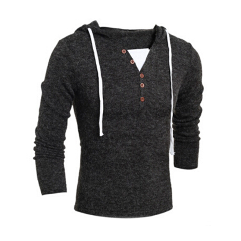 2017 Spring Autumn Mens font b Sweater b font Pullovers Simple Style Long Sleeve Cotton Knitted