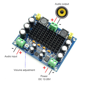 Image 3 - AIYIMA 150W TPA3116D2 Power Amplifier Board Amplificador Mono TPA3116 Digital Audio Amplifier Module DC12 26V Home Theater