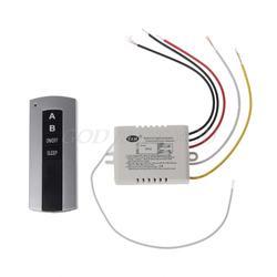 Беспроводной 2 канала на/выключение лампы удаленного Управление коммутатора приемник передатчик