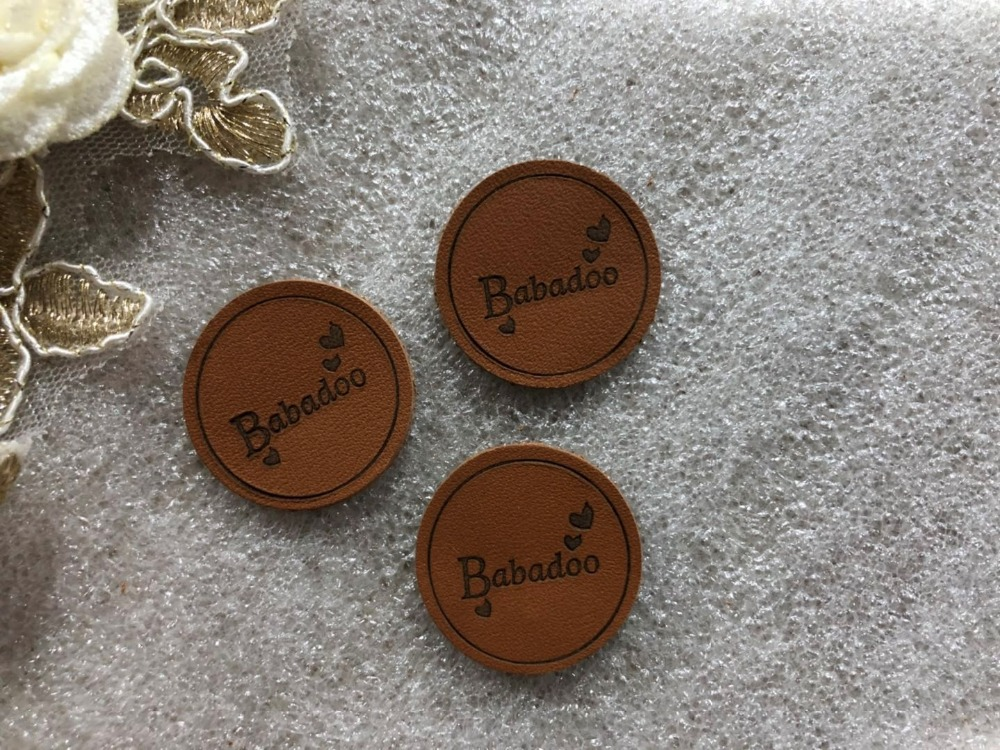 Customized Real Leather Label for jeans bags clothes Genuine Leather Label debossed engraved logo