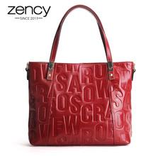 2018 Letter Famous Brand Genuine Leather Luxury Women Messenger Bags Designer Ladies Handbag Purse Shoulder Crossbody Bolsas
