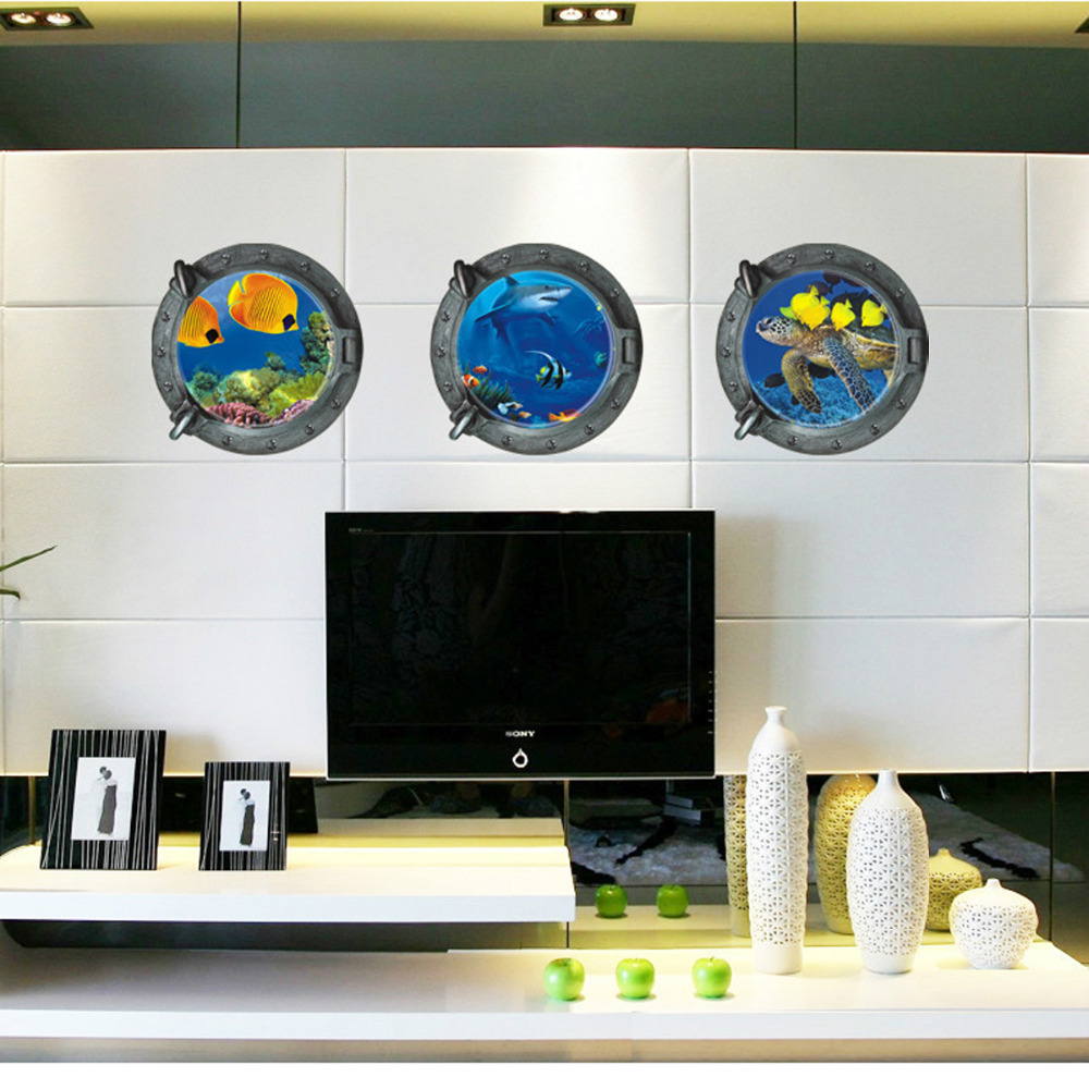 online kaufen großhandel unterwasser wandbilder kinderzimmer aus ... - Kinderzimmer Deko Unterwasserwelt