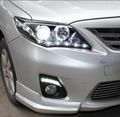 DRL For Toyota Corolla 2011 2012 2013 Daytime Running Lights fog lamp cover headlight 12V Daylight car-styling