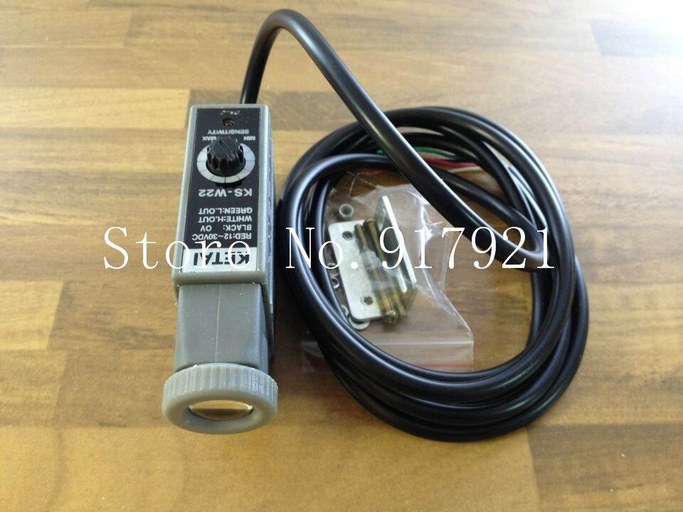 [ZOB] KETAI KS-W22 photoelectric switch monochrome color sensor  --5pcs/lot thyssen parts leveling sensor yg 39g1k door zone switch leveling photoelectric sensors