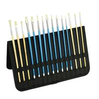 CONDA 15Pcs Paint Brush Set Watercolor Brushes Professional Paint Brushes Artist for Watercolor Oil Acrylic Painting Art Supply