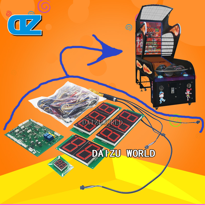 Street Basketball Machine Kits , Coin operated Basketball Games Kits , Arcade shooting Ball Game hot sales frp kiddie ride on toy cars coin operated kiddie ride coin swing riders for kids swing machine