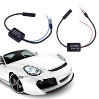 25dB Car FM Radio Antenna Amplifier Booster Car Radio Signal Amplifier For VW