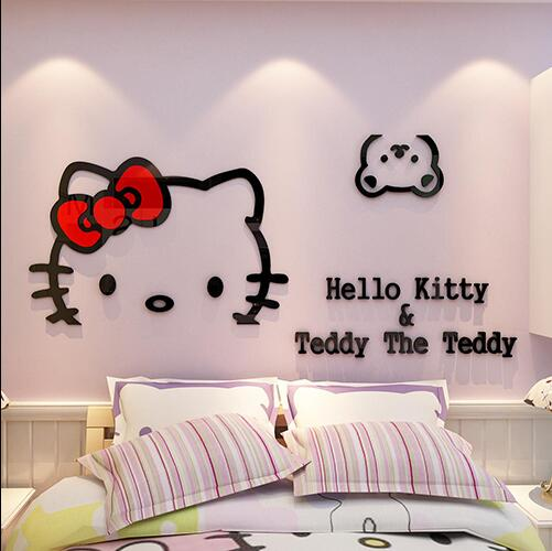 51+ Foto Hiasan Dinding Kamar Hello Kitty Terbaik
