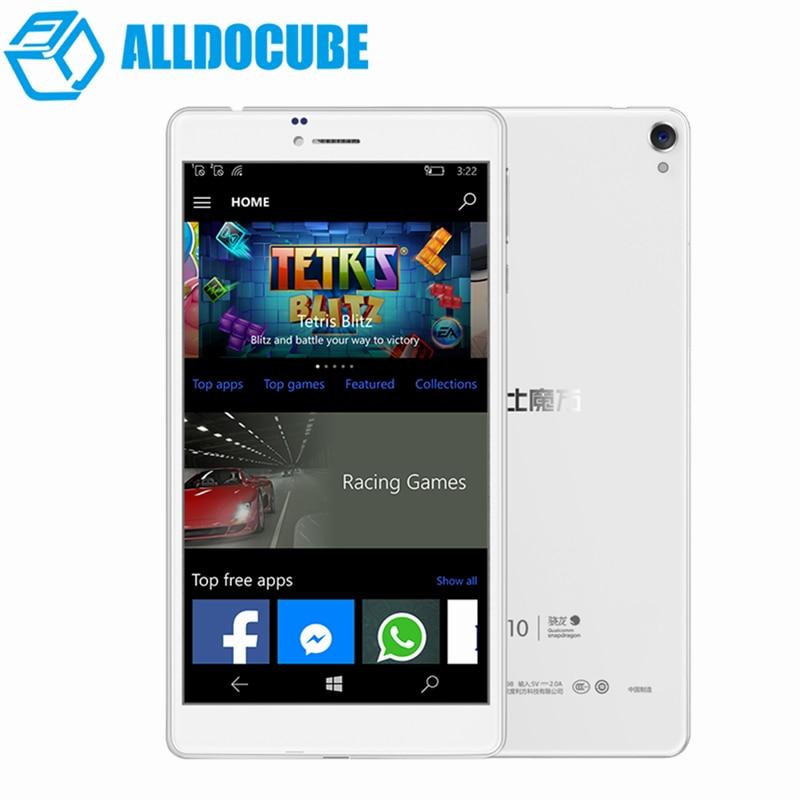 ALLDOCUBE WP10 6.98'' IPS 4G Phone Call Phablet Windows 10 MSM8909 Quad Core 1.3GHz 2GB+16GB 5MP Camera Tablets PC GPS Bluetooth