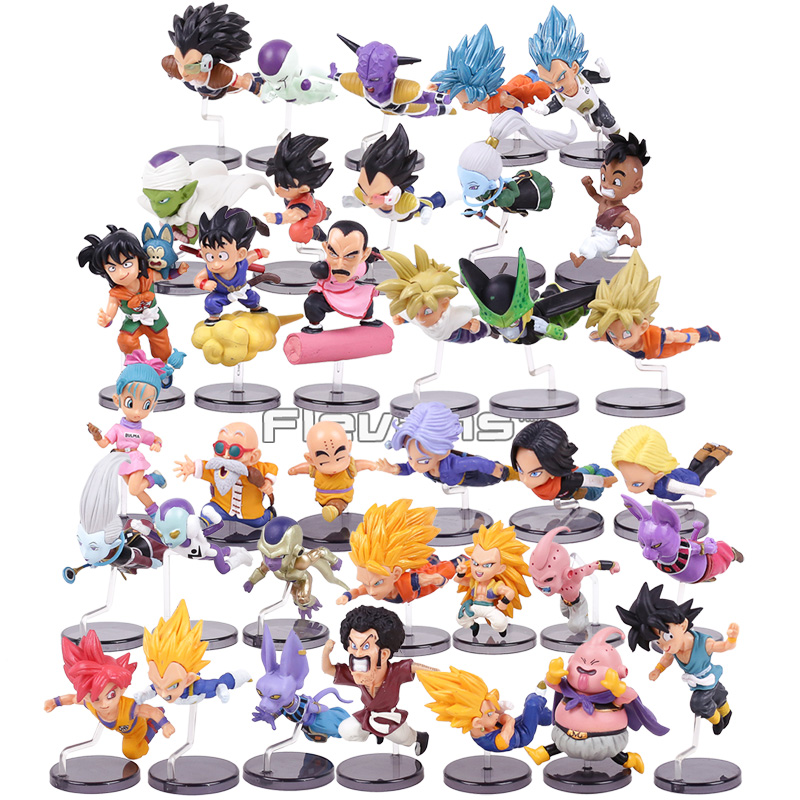 Action & Toy Figures Dragon Ball Z Super Flying Son Goku Vegeta Piccolo Frieza Cell Trunks Wcf Dbz 12 Hc Flight Status Action Figure Model Toy Buy One Give One
