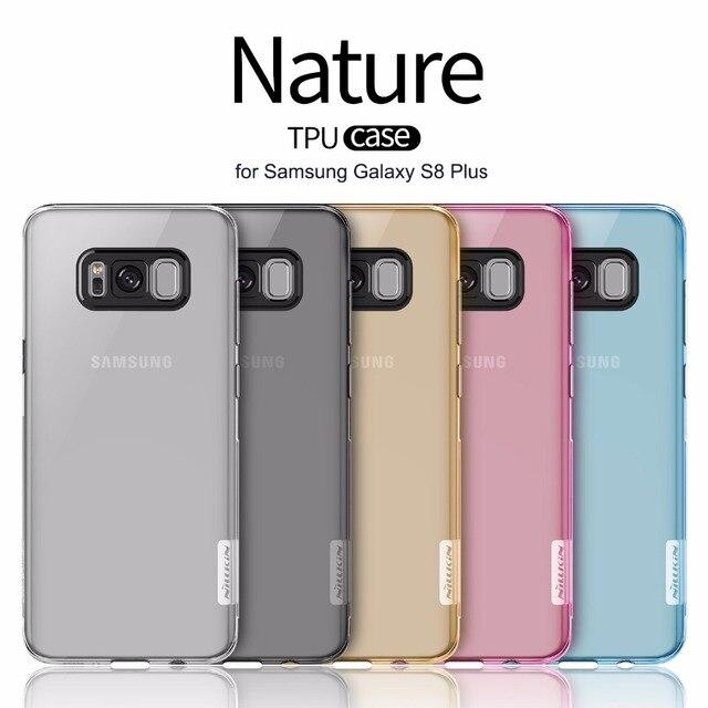 b79a0beff Caso Nillkin Nature S8 Mais Invisível Transparente de Silicone Macio TPU  Caso Capa para o Samsung