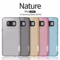 S8 Plus Invisible Case Nillkin Nature Transparent Clear Soft Silicon TPU Case Cover For Samsung Galaxy