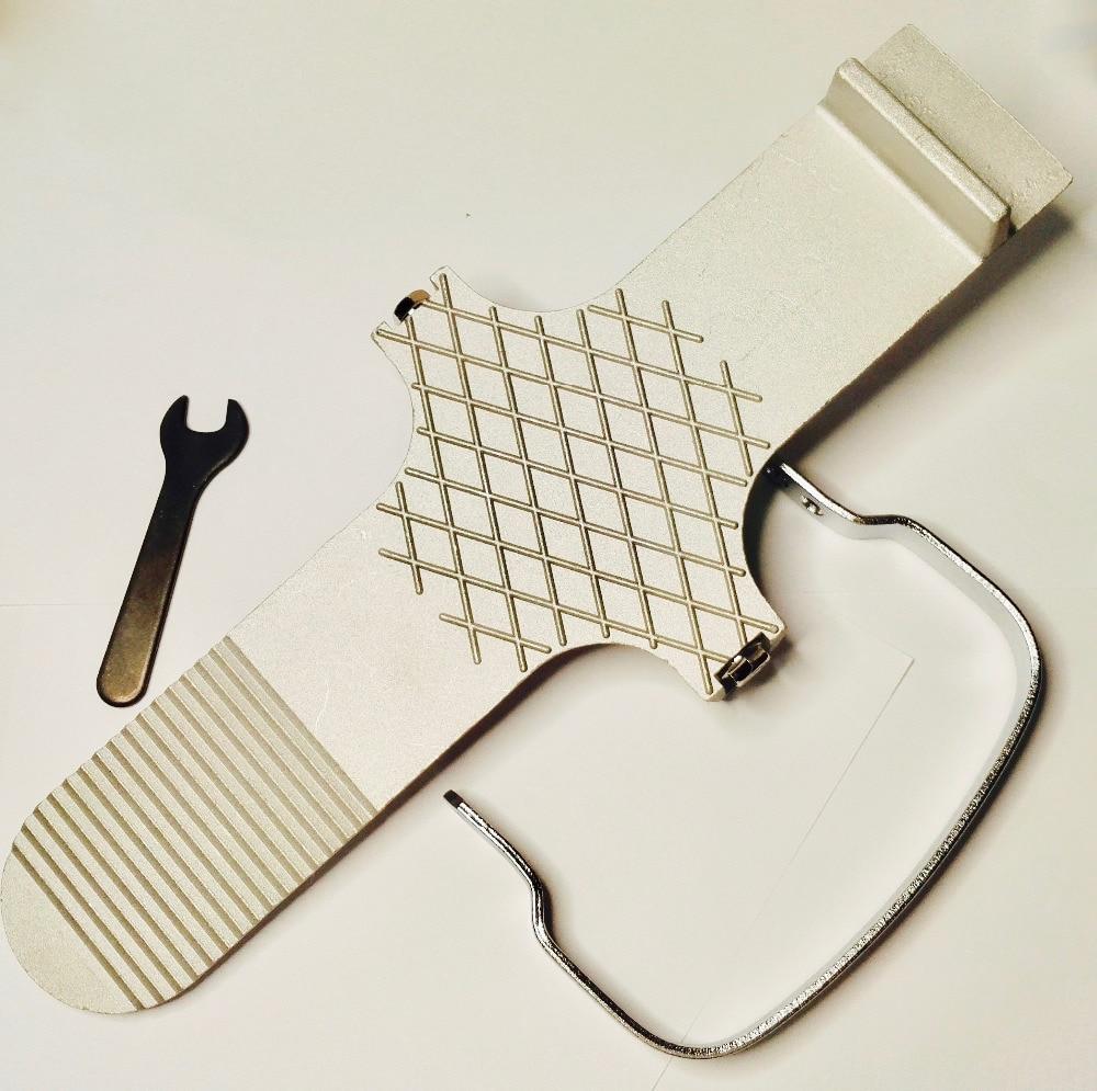 Drywall Stirrup Lifter Door Board Panel Plate Foot Wedge Zinc Aluminium Alloy Hand Tool