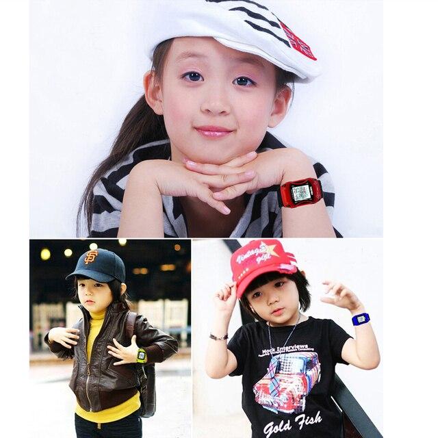 Famous Brand Children Led Digit Watches Sports Car Cartoon Watch Waterproof Children Kids Wristwatch Boys Girls Clock Kids Watch