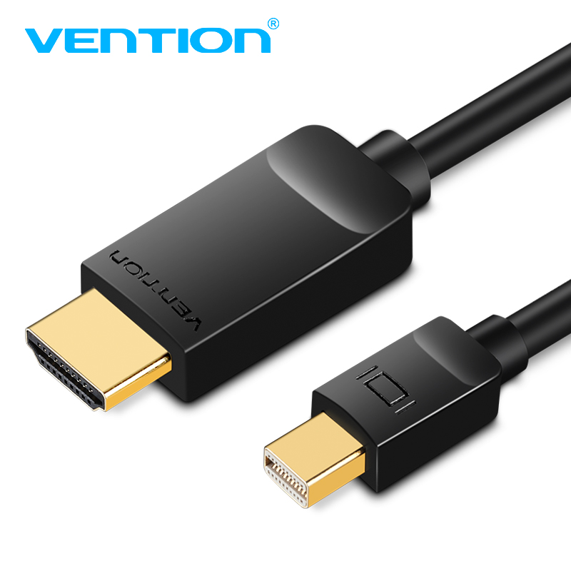 Vention Thunderbolt Mini DP a HDMI Cable Mini Displayport a HDMI Cable ordenador TV adaptador para PC Macbook HDTV proyector 1080 p